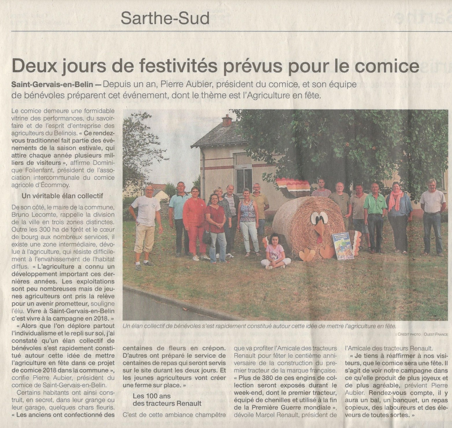 Ouest F 22.08.18